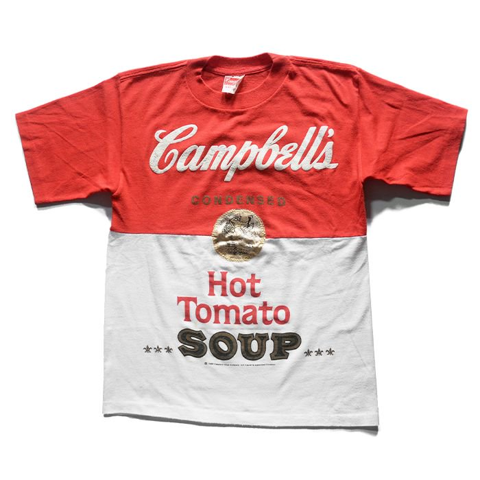 CAMPBELL SOUP ADVERTISING T-SHIRT