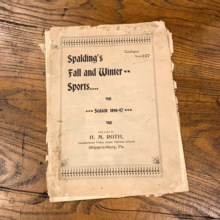 1896-97 SPALDING'S FALL&WINTER SPORTS CATALOG