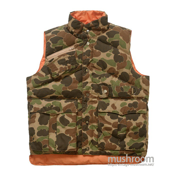 CAMEL REVERSIBLE DOWN VEST