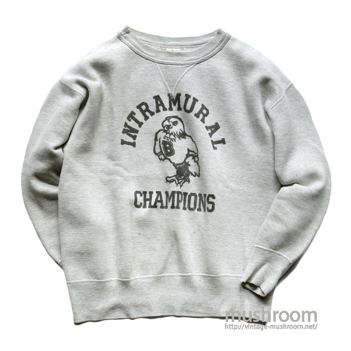 OLD SINGLE-V COLLEGE SWEAT SHIRT