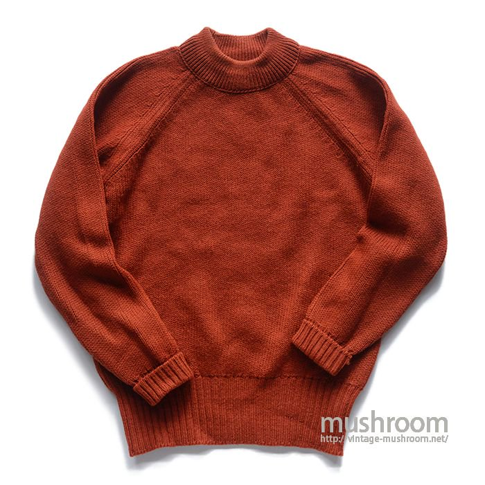 PETER STORM OILED WOOL SWEATER( XL/DEADSTOCK )