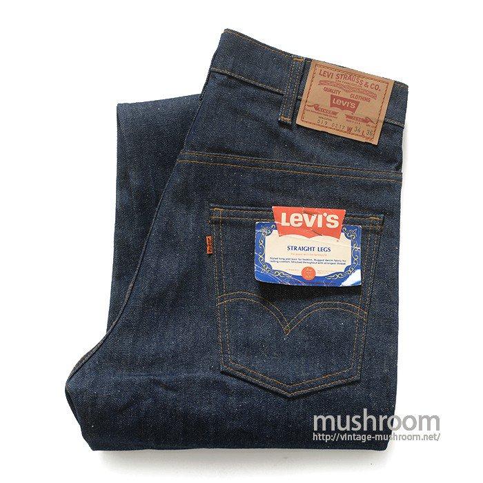 LEVI'S 519 JEANS( W34L36/DEADSTOCK )
