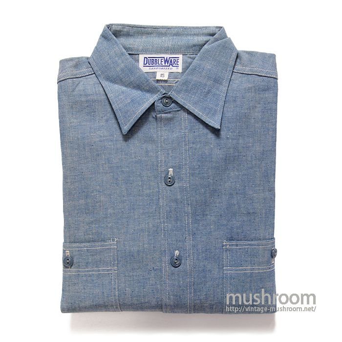 DUBBLEWARE CHAMBRAY WORK SHIRT( 15/DEADSTOCK )