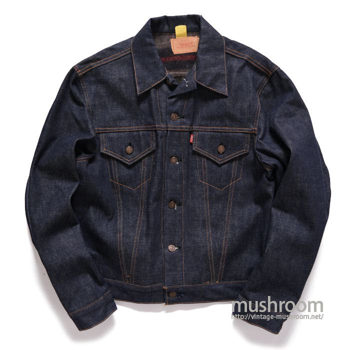 LEVI'S 70505-0317 BIGE DENIM JACKET( 44/DEADSTOCK )
