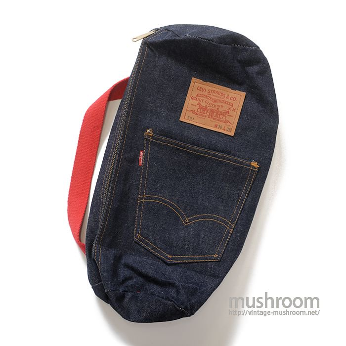 LEVI'S DENIM BAG( DEADSTOCK )