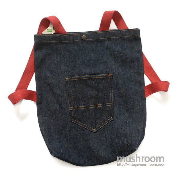 UNKNOWN DENIM BAG( MINT )