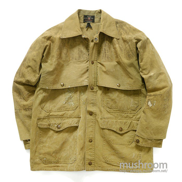 HIRSCH-WEIS TIN CLOTH CRUISER JACKET