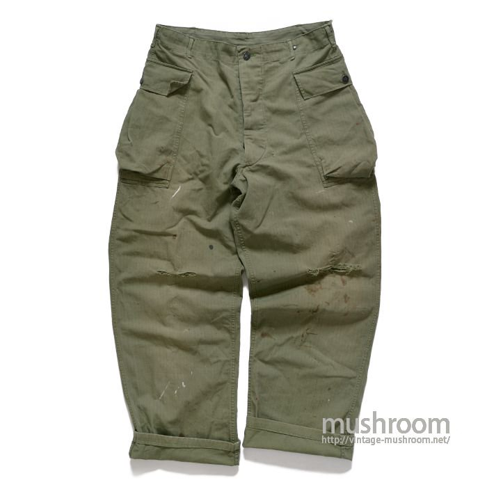 U.S.ARMY M-42 TWO-POCKET HBT TROUSERS