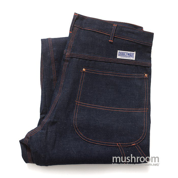 DUBBLEWARE DENIM PAINTER PANTS(DEADSTOCK)