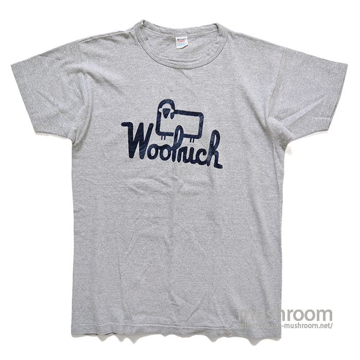 WOOLRICH T-SHIRT( MADE BY CHAMPION/MINT )