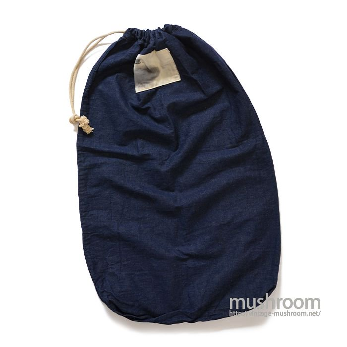 OLD DENIM LAUNDRY BAG( MINT )