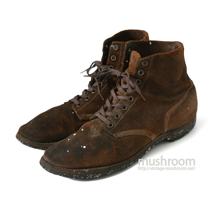 U.S.NAVY ROUGHOUT BOOTS