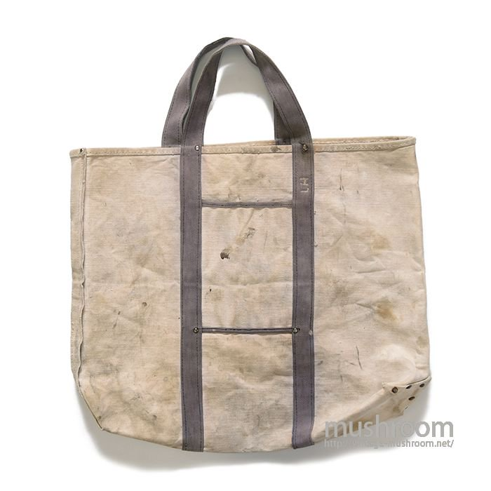 UNKNOWN TWO TONE CANVAS TOTE BAG