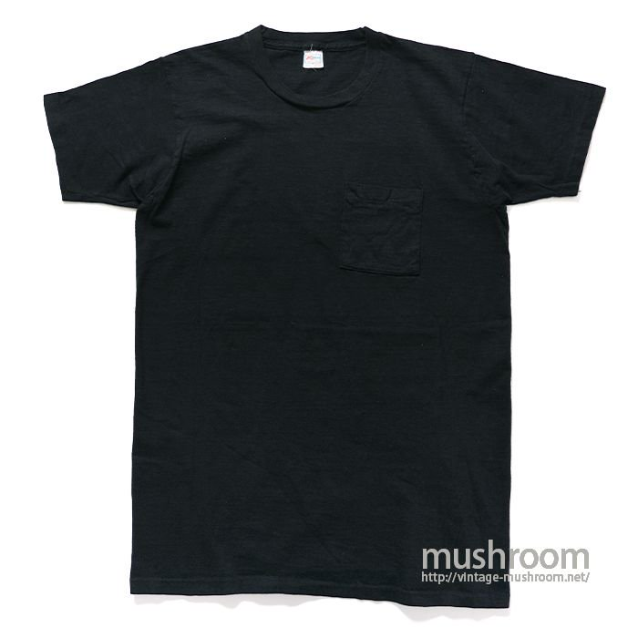K-MART BLACK POCKET T-SHIRT