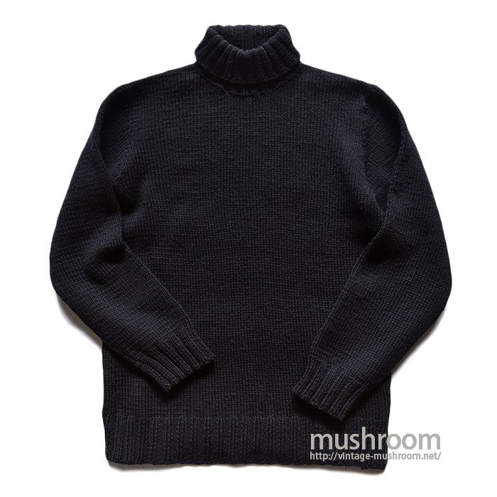 AMERICAN RED CROSS TURTLE-NECK SWEATER( MINT )