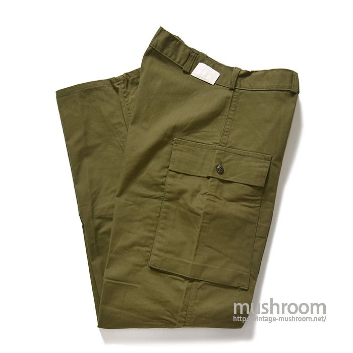 U.S.ARMY M-42TYPE TWO-POCKET HBT TROUSERS( 34-32/DEADSTOCK )