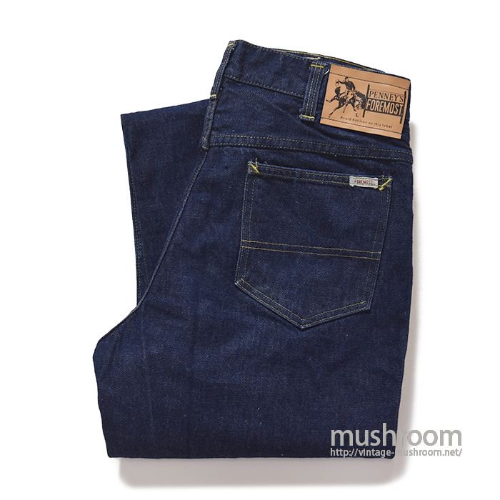 PENNEY'S FOREMOST 5POCKET JEANS( MINT )