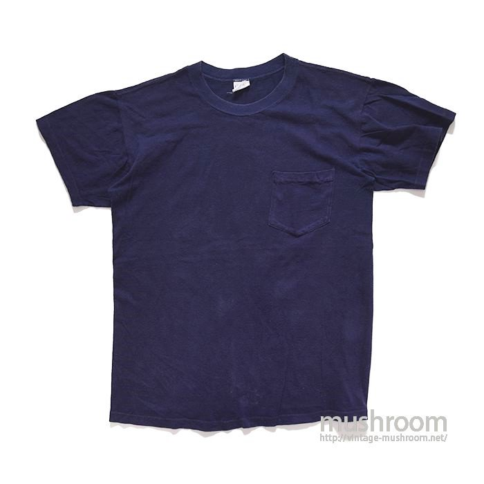 GRANTS NAVY POCKET T-SHIRT