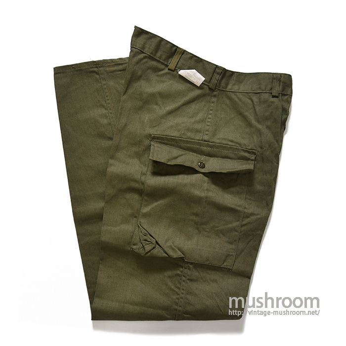 U.S.ARMY M-43TYPE TWO-POCKET HBT TROUSERS( 33-33/DEADSTOCK )