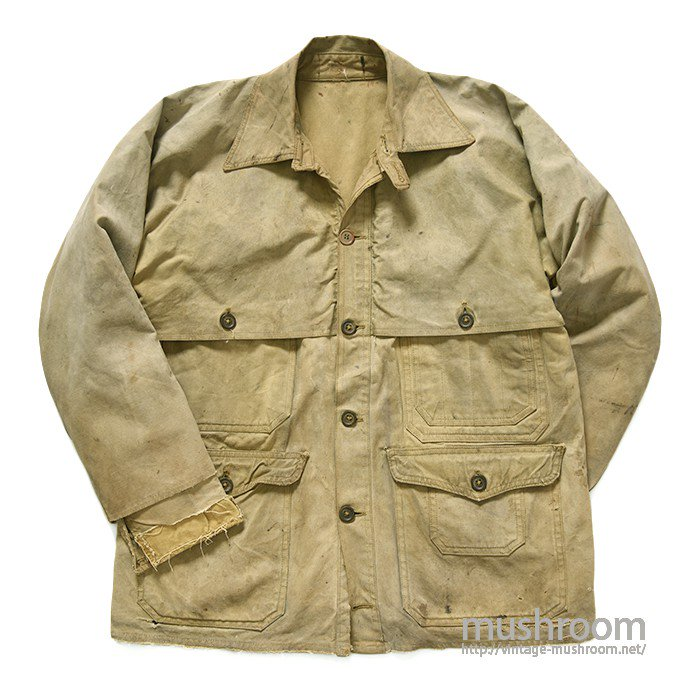 Hirsch-Weis TIN CLOTH LOGGER'S CRUISER JACKET