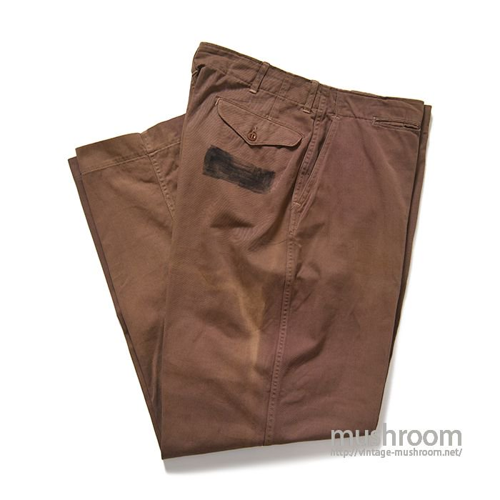 WW2 USMC COTTON TROUSERS( POW )