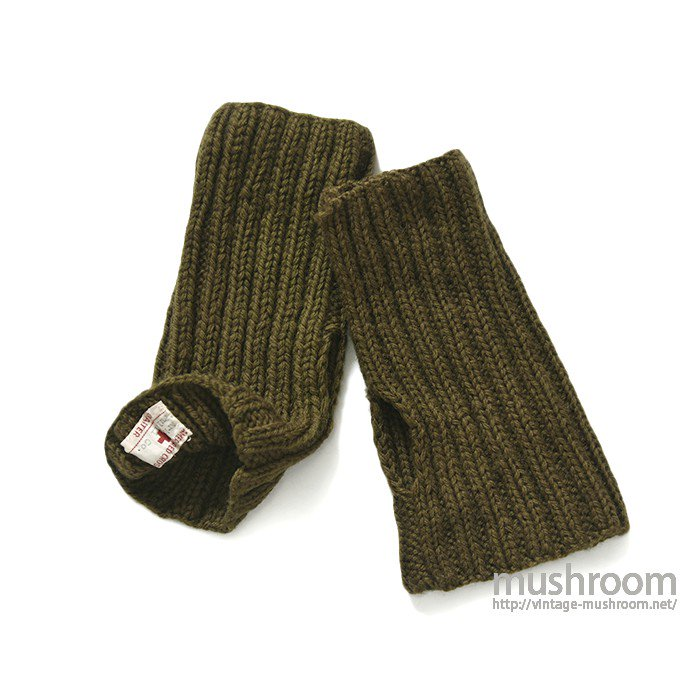 WW1-WW2 AMERICAN RED CROSS KNIT GLOVE( MINT )