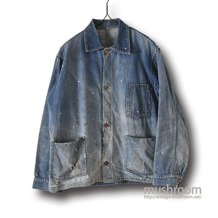 EAGLE BRAND DENIM COVERALL