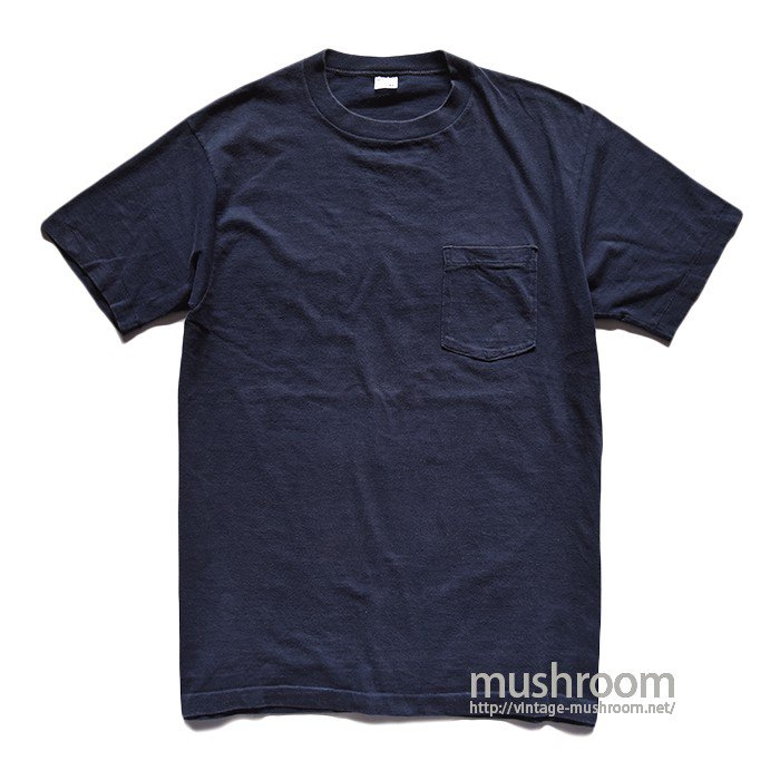 TOWNCRAFT NAVY BLUE POCKET T-SHIRT