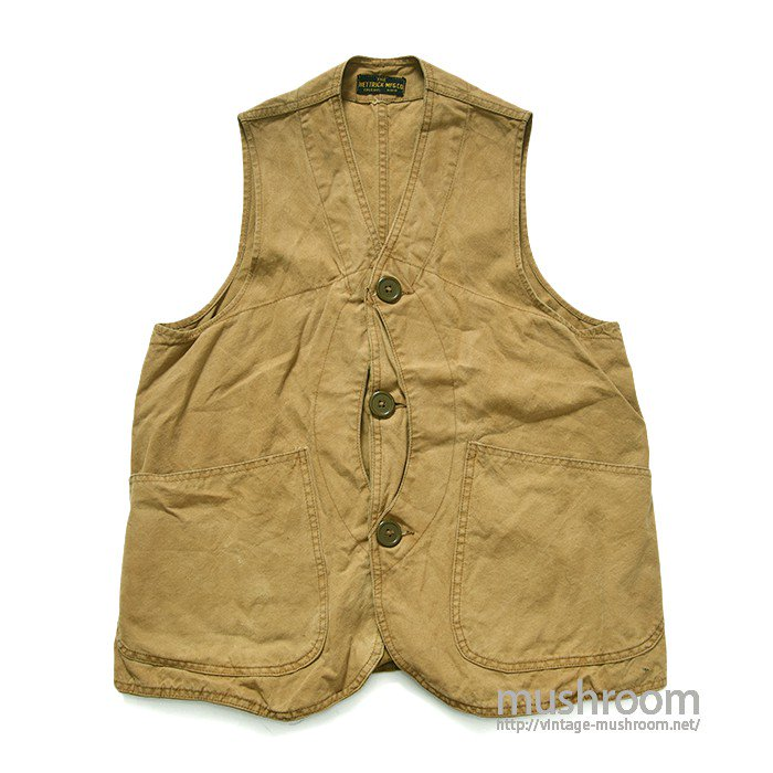 THE HETRICK MFG CO CANVAS HUNTING VEST