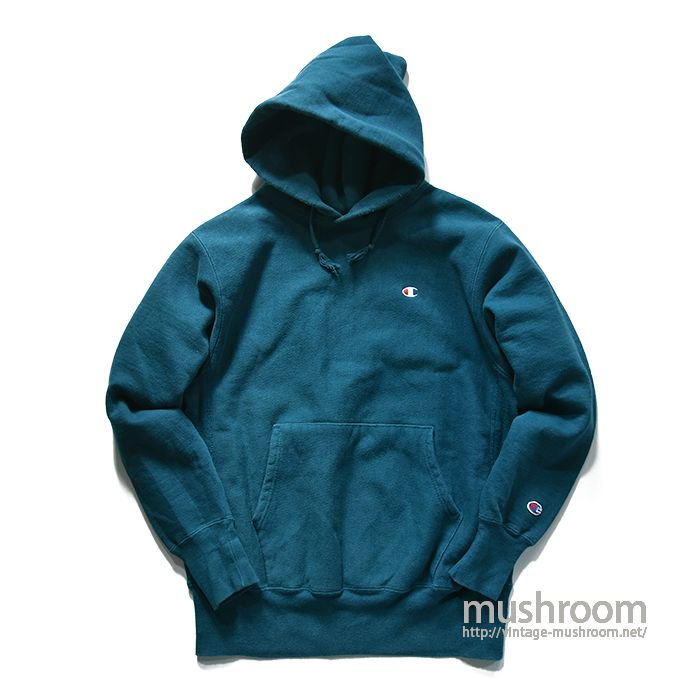 CHAMPION REVERSE WEAVE HOODY( RARE COLOR/MINT )