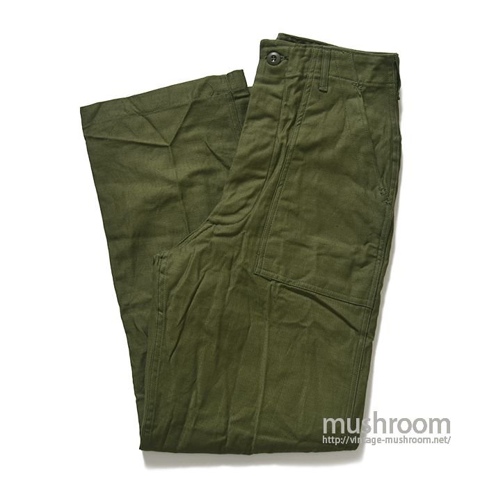 U.S.MILITARY UTILITY COTTON TROUSER( 30-31/DEADSTOCK )