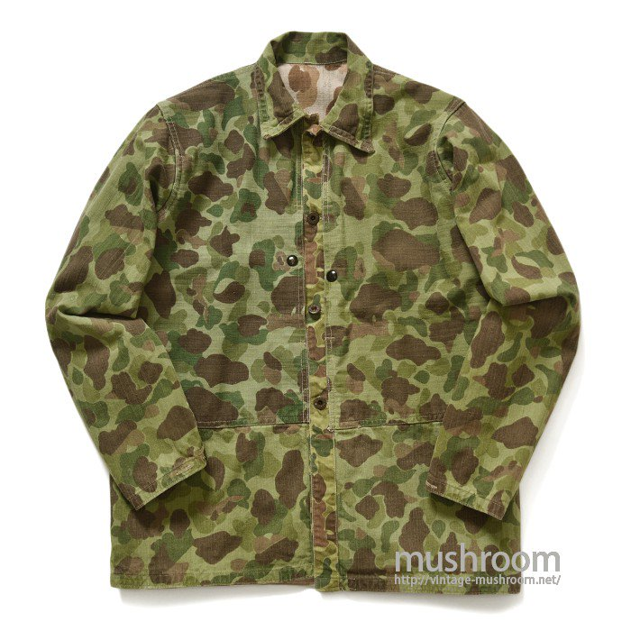 USMC DUCK HUNTER CAMO HBT JACKET