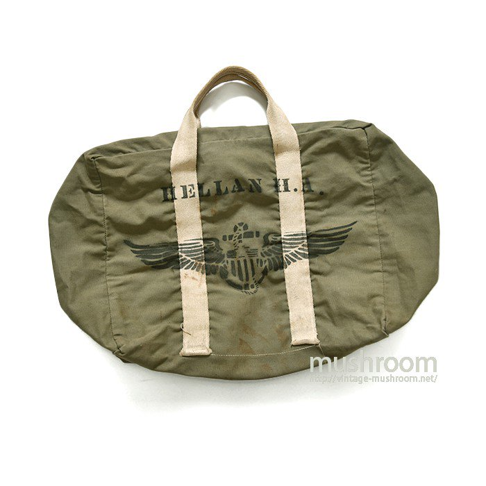 WW2 U.S.NAVY AVIATOR'S KIT BAG WITH STENCIL