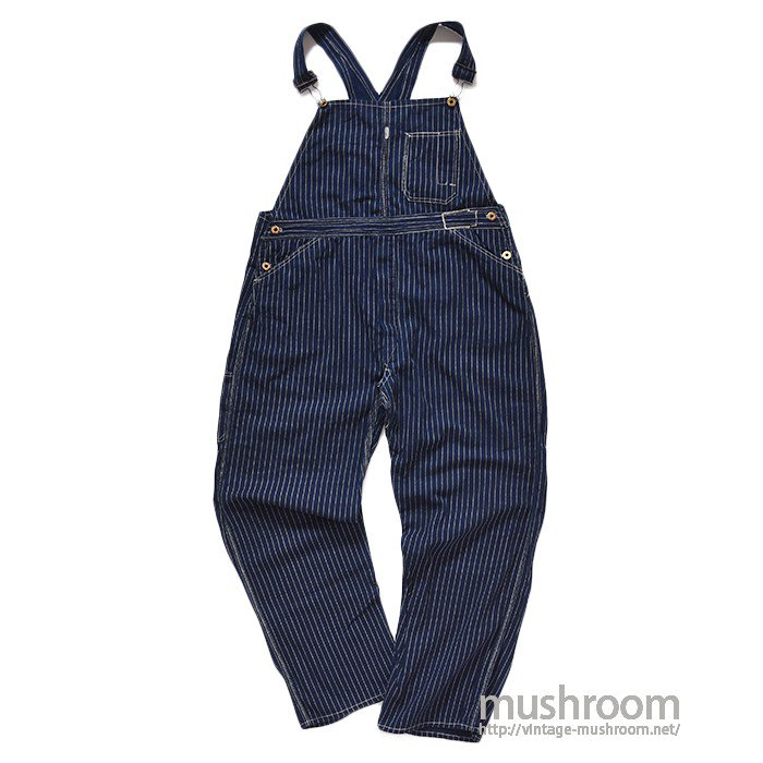 BRIDGE BRAND WABASH STRIPE OVERALL( MINT )