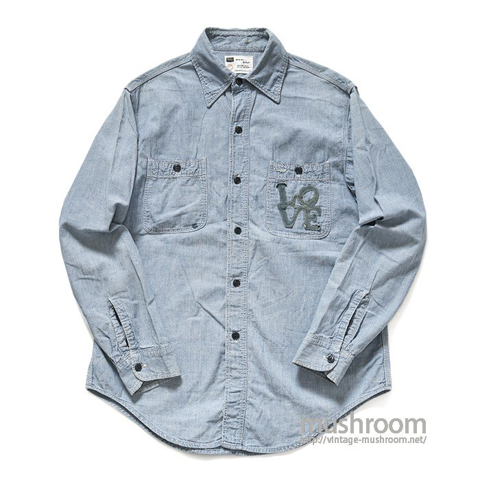 SEARS CHAMBRAY WORK SHIRT