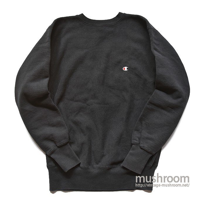 CHAMPION PLAIN REVERSE WEAVE( XL/BLACK )