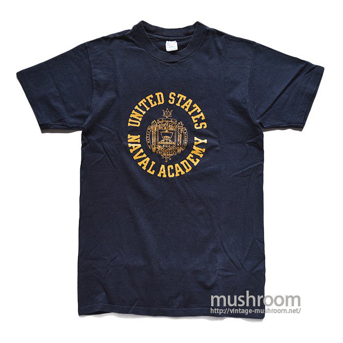 CHAMPION USNA T-SHIRT(M/MINT)