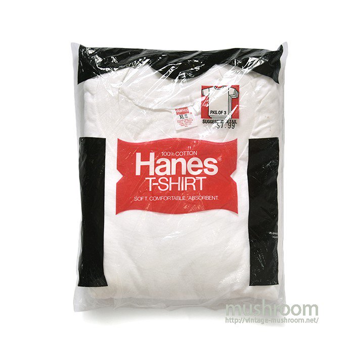 HANES PLAIN PACK T-SHIRT( XL/DEADSTOCK )