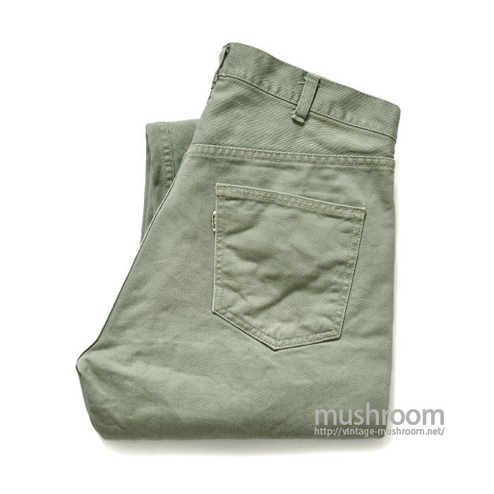 LEVI'S 518E COTTON TWIL PANTS
