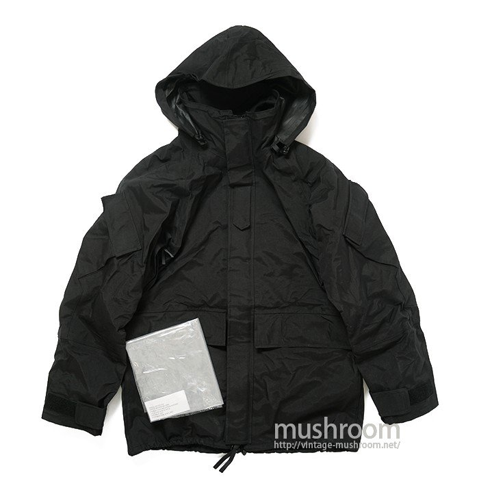 US.ARMY ECWCS BLACK PARKA( S-R/DEADSTOCK )