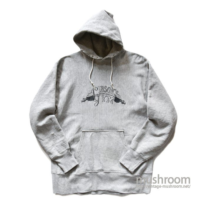 CHAMPION GIBSON'S GYM REVERSE WEAVE HOODY