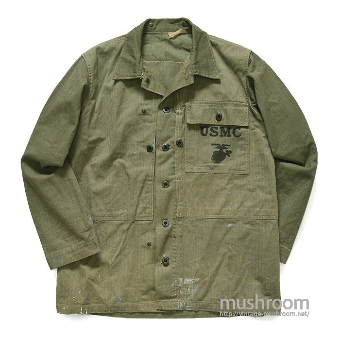 USMC P-1944 TWO-TONE HBT JACKET