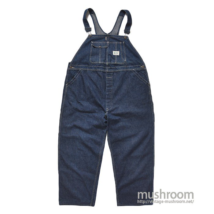 WW2 KEY DENIM OVERALL