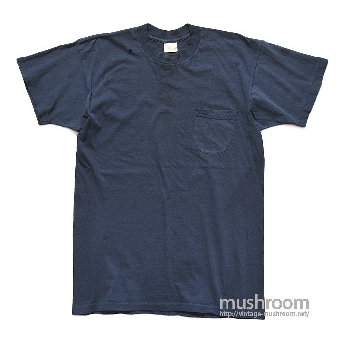 OLD NAVY BLUE ROUND POCKET T-SHIRT