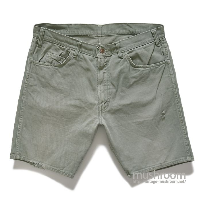 LEVI'S BIGE COTTON TWILL SHORTS
