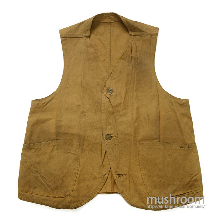 BLUE BILL CANVAS HUNTING VEST
