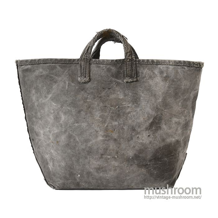 OLD CANVAS COAL BAG