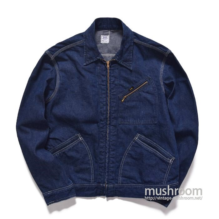 Lee 91-B DENIM WORK JACKET(42R/ONE-WASHED)