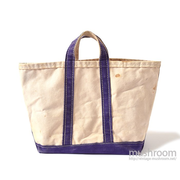 OLD CANVAS TOTE BAG( RARE SIZE )