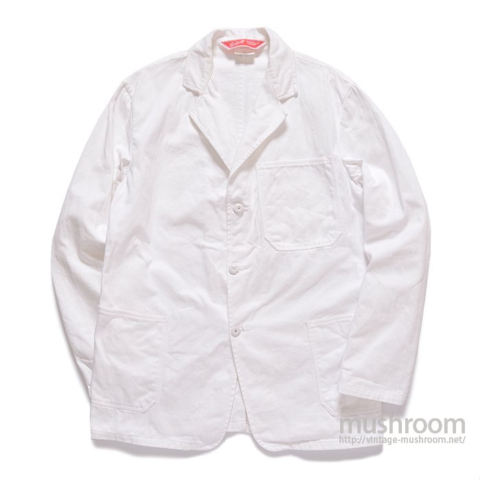 CARHARTT WHITE COTTON WORK JACKET